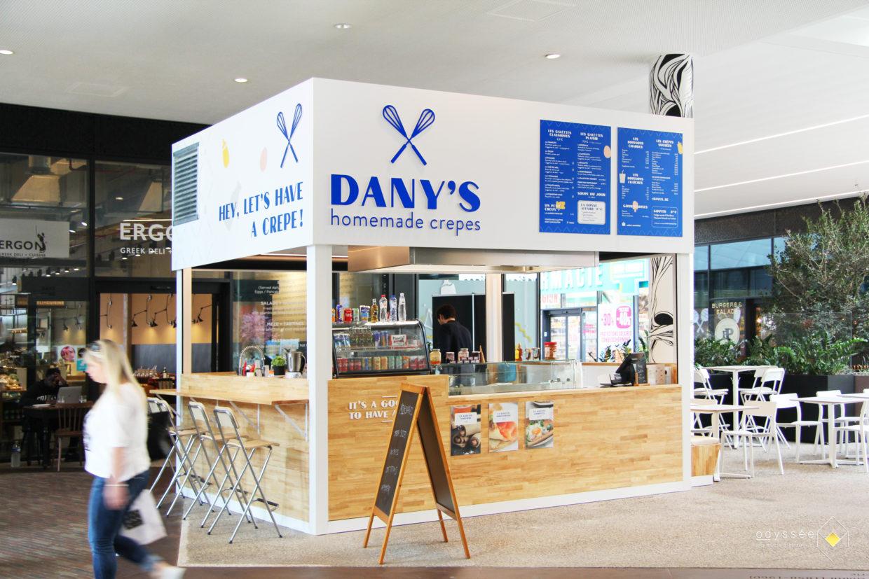 Concept complet d'aménagement et branding pour un kiosque dans un centre commercial - Concept et architecture d'intérieur Odyssée Studio